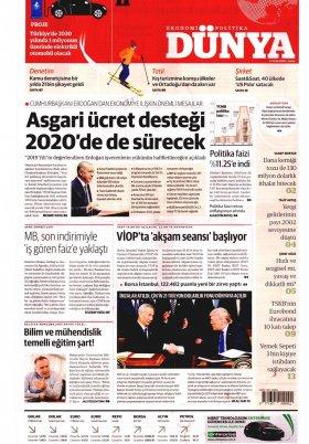 Bursa Arena / Haber Merkezi - 18.01.2020 Manşeti