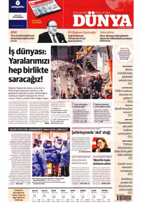 Bursa Arena / Haber Merkezi - 28.01.2020 Manşeti