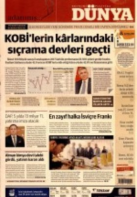 Bursa Arena / Haber Merkezi - 18.07.2018 Manşeti