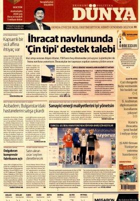 Bursa Arena / Haber Merkezi - 15.10.2018 Manşeti