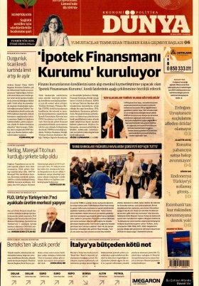 Bursa Arena / Haber Merkezi - 22.10.2018 Manşeti
