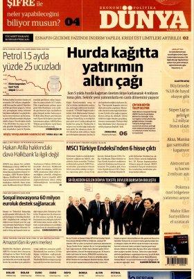Bursa Arena / Haber Merkezi - 17.11.2018 Manşeti