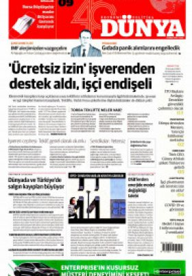 Bursa Arena / Haber Merkezi - 11.04.2020 Manşeti
